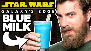 Star Wars Galaxy's Edge Food Taste Test
