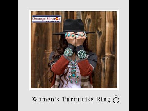 Women's Turquoise Ring