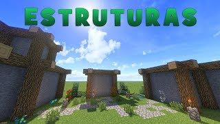 Minecraft: Dicas de Construção - 11: ESTRUTURAS