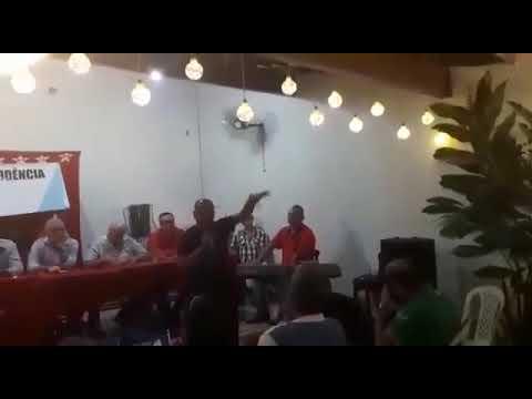 Membro do PT faz críticas durante posse do novo Diretório Municipal em Santo Antônio de Jesus
