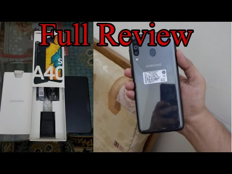 Samsung Galaxy A40s review 2019 || Samsung galaxy new mobile