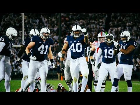 Penn State junior linebacker Jason Cabinda highlights 2016-17 #40