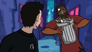 Creepy Man Ate My Garbage (Animated Horror Story)