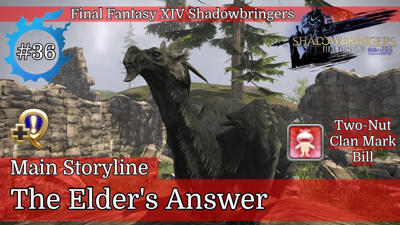 FFXIV Shadowbringers - Playthrough (ITA) #36 - The Elder's Answer