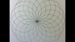 How to draw a Spiral/Circle Grid
