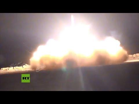 Iran's air defenses shooting down US drone