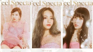 """TWICE """"Feel Special"""" TEASER PHOTOS ALL MEMBERS"""