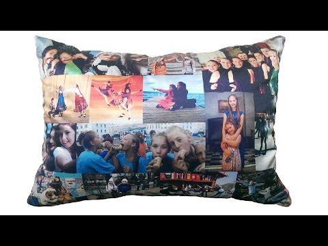 Подушки с фотографиями - Фотоподушки - Идеи для подарков