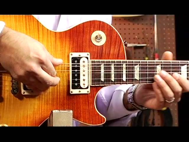 watch adjusting intonation on an electric guitar youtube for musicians. Black Bedroom Furniture Sets. Home Design Ideas