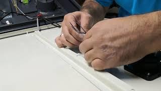 Elektrostatik filtre imalatı / Kapak ışıkları montajı - Air Green Video
