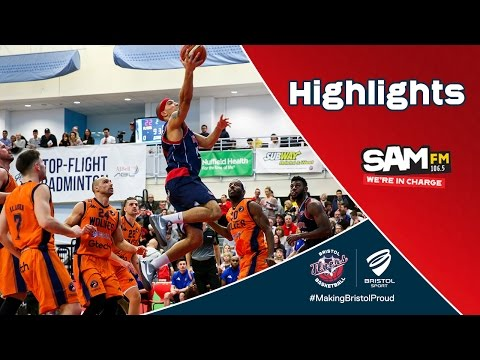 HIGHLIGHTS: Bristol Flyers 81-73 Worcester Wolves
