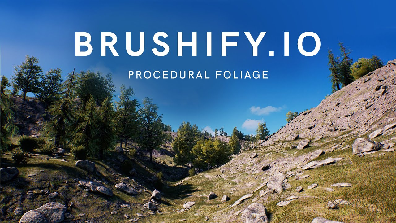 Brushify - Using Procedural Foliage in Unreal Engine 4 (Tutorial)