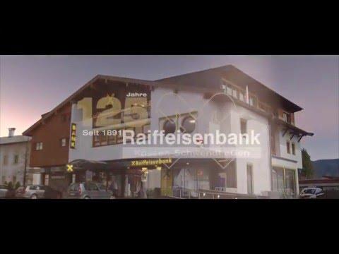 Raiffeisenbank Kössen-Schwendt Jubiläum 125 Jahre
