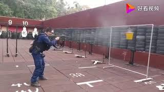 中国特警射击 Chinese SWAT shooting drill