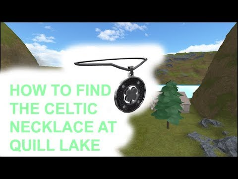 ROBLOX SCUBA DIVING AT QUILL LAKE | HOW TO GET THE CELTIC NECKLACE