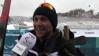 Jeux Paralympiques - Biathlon 15 km hommes - Benjamin Daviet