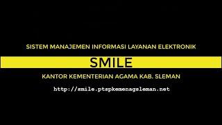 """Launching Aplikasi """"SMILE"""" Kemenag Sleman"""