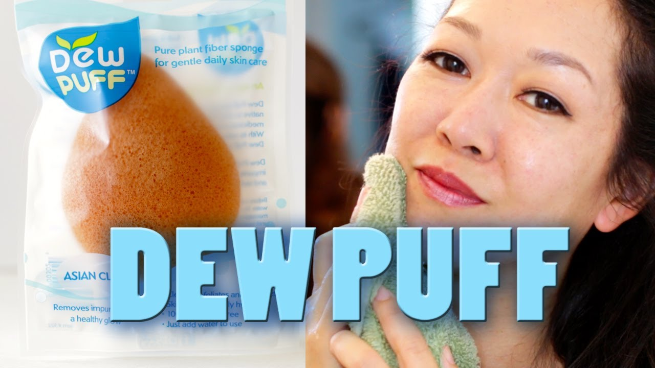 How To Use A Konjac Sponge: Exfoliate & Cleanse Skin Naturally With The Dew  Puff