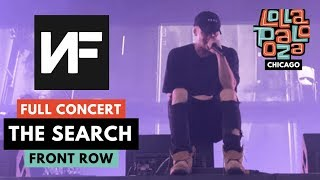 """NF *FULL* LOLLA CONCERT - """"THE SEARCH"""" SONGS LIVE *DEBUT* - 8/2/2019 CHICAGO"""