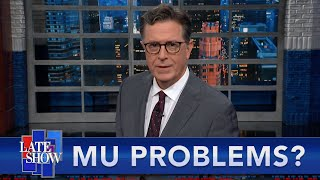 Mu Becomes A Concern, The Delta Spread Continues,  Colbert Shaves The Stache