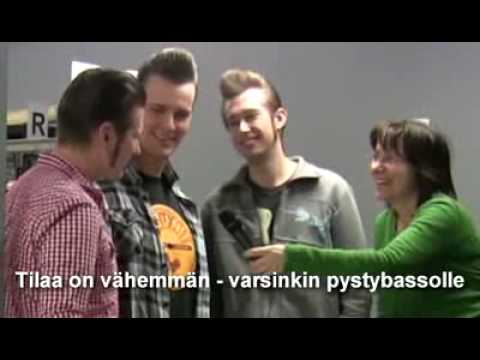 The Baseballs @ Iskelmä Radio , Finland