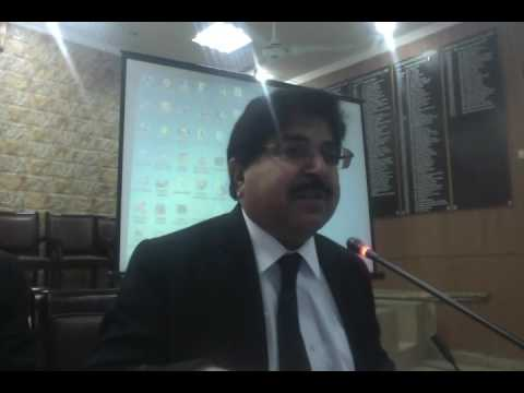 LHCBA Lecture: Jst (R) Akram Qureshi ASC on PRIVATE CRIMINAL COMPLAINT