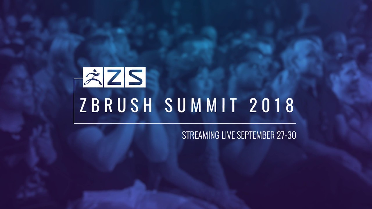 2018 ZBrush Summit Announcement