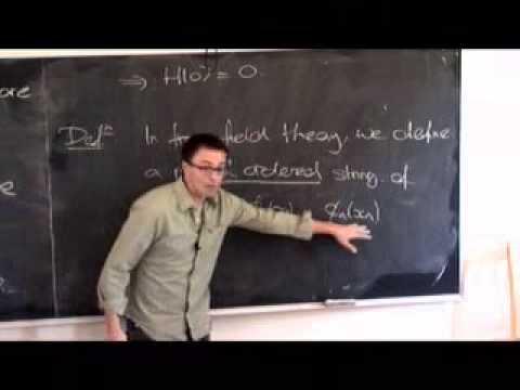 Lec 04 - Quantum Field Theory   University of Cambridge