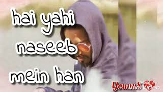 Khwab ko toot jaane do status video new