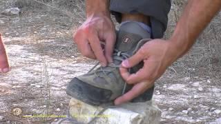 Cómo atar correctamente el calzado de montaña