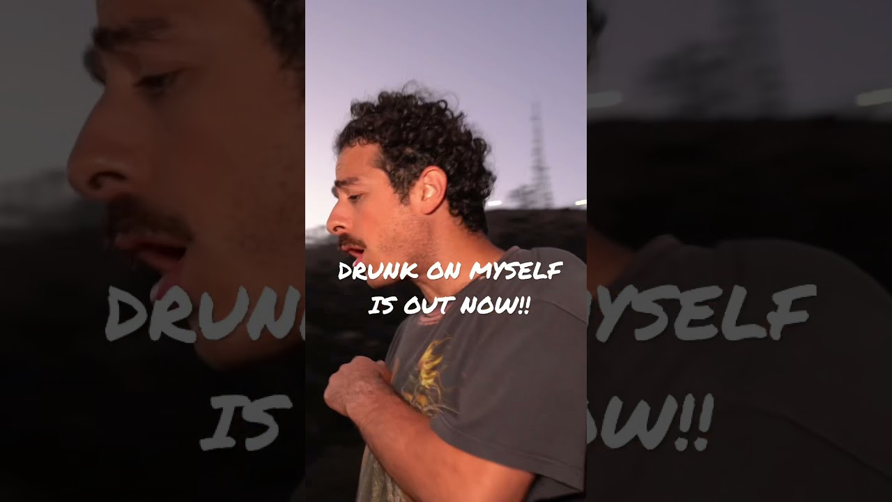drunk on myself is out now!!