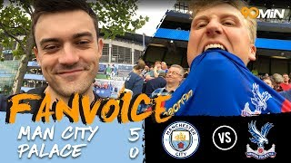 Man city smash palace by 5 goals! | man city 5-0 crystal palace | fanvoice