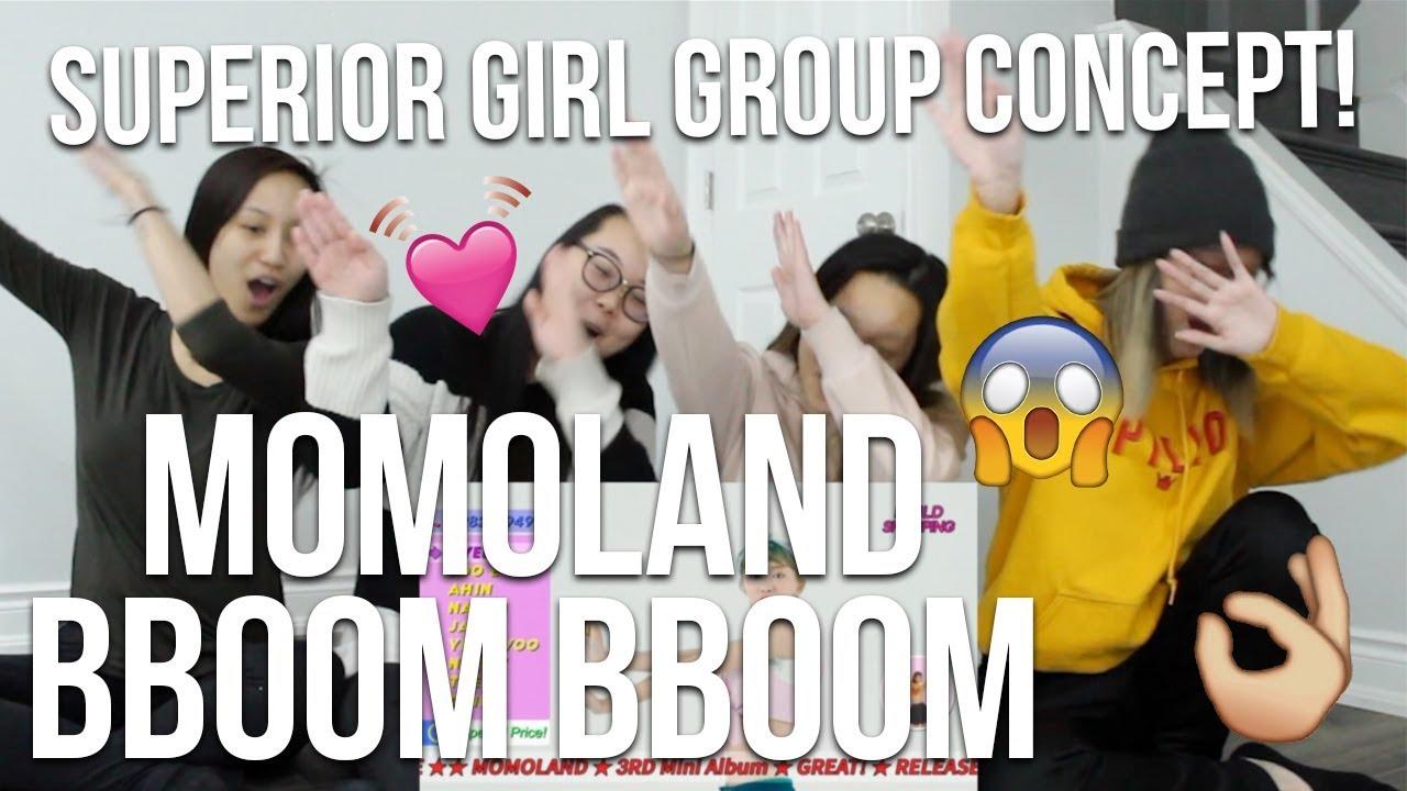 Download MV REACTION   [MV] MOMOLAND (모모랜드) _ BBoom BBoom (뿜뿜)