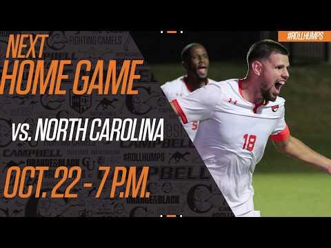Campbell Men's Soccer - October 22nd Vs. North Carolina