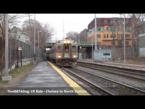 TheMBTADog: MBTA Commuter Rail Ride - Chelsea to North Station (2015-04-07)