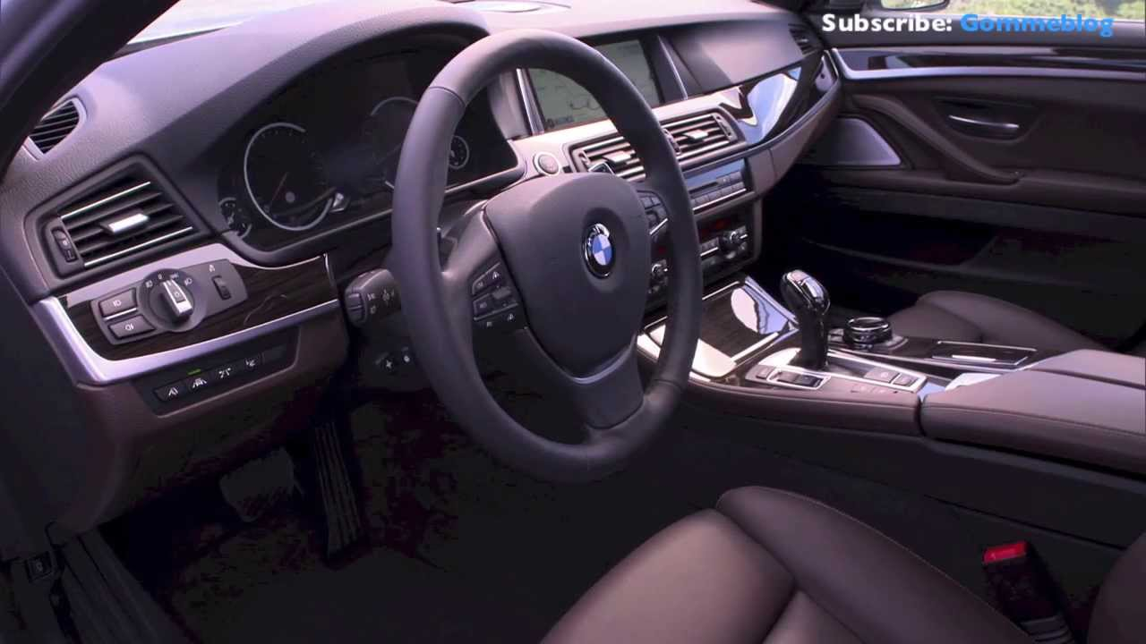 2013 NEW BMW 5 Series 535i Restyling  Nice Interior View  YouTube