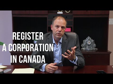 Register a Corporation in Canada