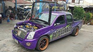 ดีแม็กเก่าคันงาม-สเต็ปโบคู่-ห้องเครื่องไทเทงามๆ-จาก-ช่างพลสายไฟบลูทูธ-รถซิ่งไทยแลนด์