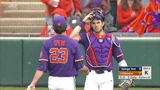 Clemson Baseball || Georgia Tech Game Highlights - 3/10/18 (Game 1)