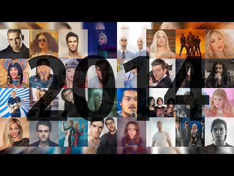 2014 ANTHEM (110+ songs Pop & EDM mashup) - Squiller