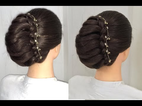 Easy And Beautiful French Roll Hairstyles French Bun Hairstyle For Party Wedding Hairstyle 2019 Hairstyles Martha Journal