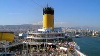 Piraeus: Panoramic View from Costa Magica