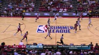 Quarter 4 One Box Video :Grizzlies Vs. Heat, 7/14/2017