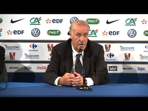 Spain's football coach sees positives in French defeat