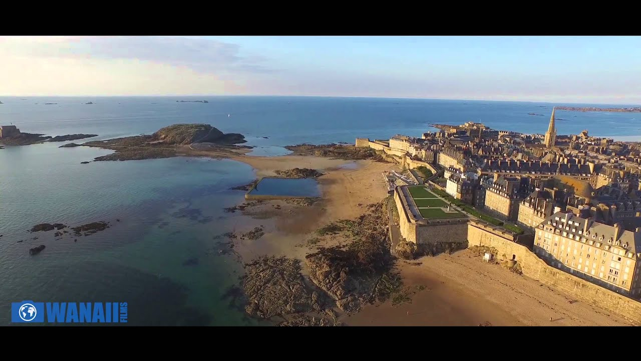 saint malo drone youtube. Black Bedroom Furniture Sets. Home Design Ideas