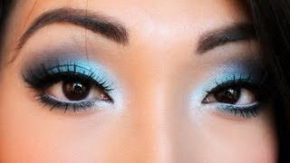 Smokey Blue Eyeshadow Tutorial