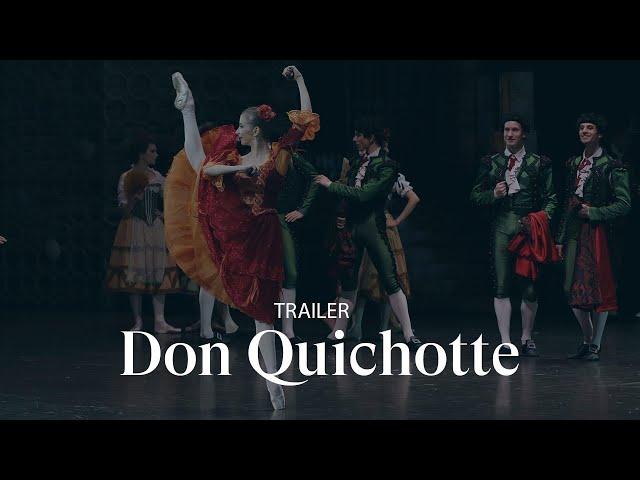 [TRAILER] DON QUICHOTTE by Rudolf Noureev