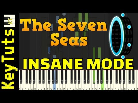 Learn To Play Seven Seas From Geometry Dash - Insane Mode
