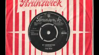 My Generation, Shout Shimmy 45rpm on Brunswick