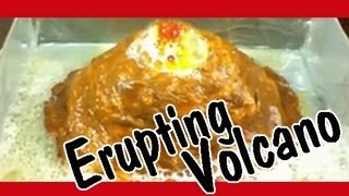 HOW TO MAKE A VOLCANO Easy Kids Science Experiments